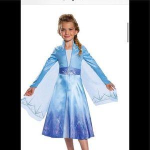Disney Costume Frozen II Elsa sM 7-8 never worn